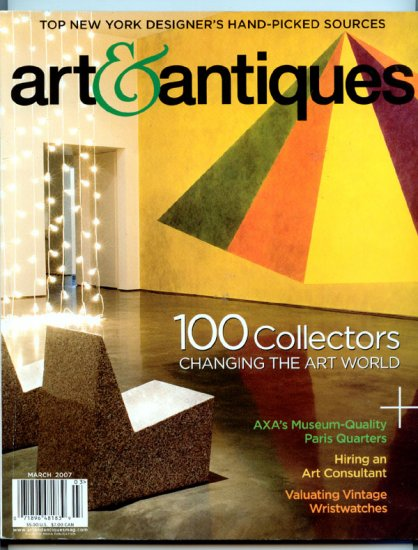 Art & Antiques Magazine - March 2007 - Valuating Vintage Wristwatches