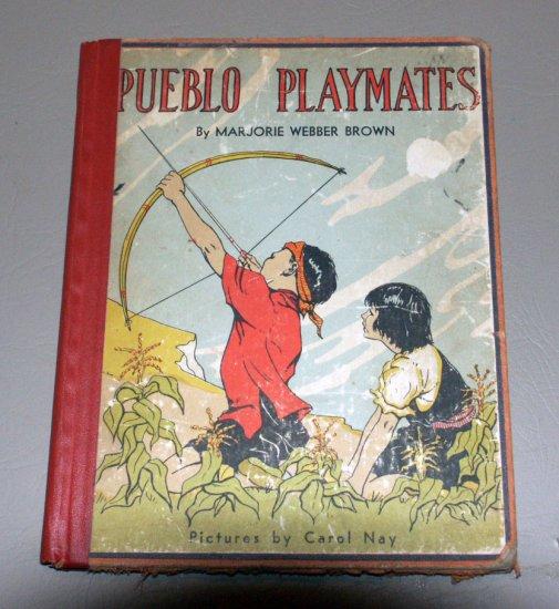 Pueblo playmates (Whitman 1939) by Marjorie Webber Brown