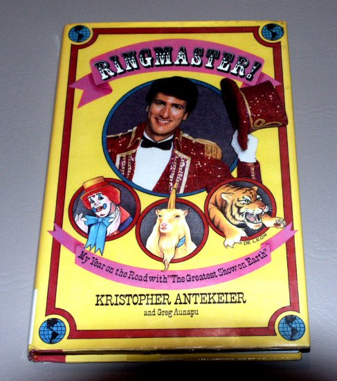 Ringmaster by K. Antekeier, Aunapu - The Ringling Brothers, Barnum & Bailey Circus
