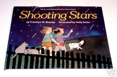 Shooting Stars (Lets Read and Find Out Science Book) by Franklyn Mansfield Branley, Holly Keller