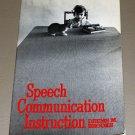 Speech Communication Instruction: A Reader. by Deems M., Comp. Brooks