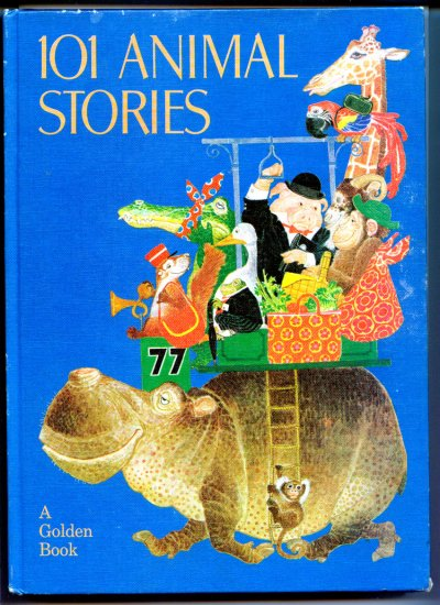 101 Animal Stories (A Golden Book) by Anne-Marie; Glynis Holland & Brenda Uttley, Dalmais, Benvenuti