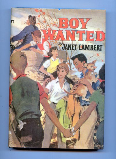 Boy Wanted (Hardcover 1959) by Janet Lambert