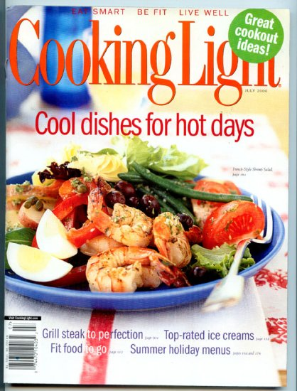 Cooking Light Magazine - July 2006 - Cool Dishes for Hot Days