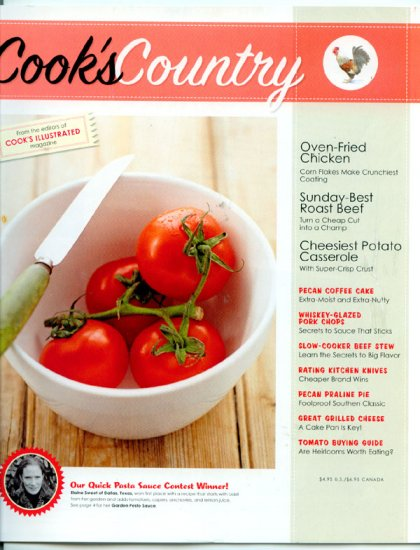 Cook's Country Magazine (illustrated) - Tomato Buying Guide, Rating Kitchen Knives