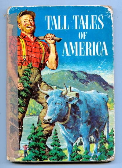 Tall Tales of America (HC 1958) by Irwin Shapiro, Al Schmidt