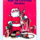 Noni The Christmas Reindeer, A Rand McNally Junior Elf Book by Daphne Doward Hogstrom