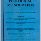 Ecological Monographs - Volume 41, Summer 1971, No. 3 - Duke University Press