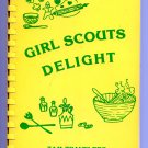 Girl Scouts Delight by Tam Travelers - A Book of Favorite Recipes (1931) Cookbook