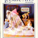 Leisure Arts The Magazine - April 1988 Vol. 2 No. 3 - Knit, Stitch Projects