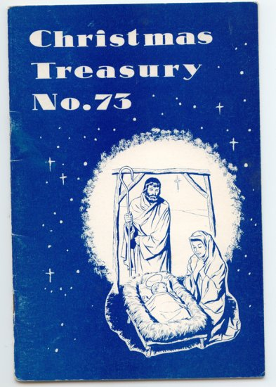 Christmas Treasury No. 73 (1962 Lorenz Publishing) Recitations, Exercises, Drills, Dialogs...