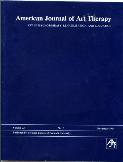 American Journal of Art Therapy - Volume 33 No. 2 November 1994 - Vermont College