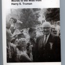 Power, money, and women: Words to the wise from Harry S. Truman by Niel M Johnson