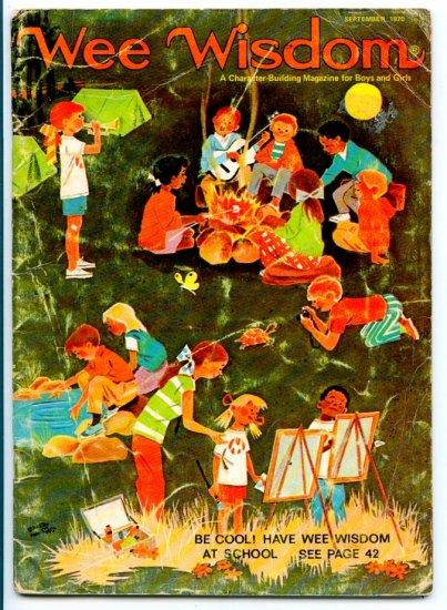Wee Wisdom Children's Magazine from Unity - September 1970 Vol. LXXVII No. 2