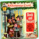 A Christmas Carol (Book and Record) by Peter Pan Records