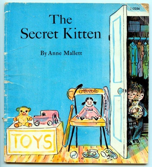 The Secret Kitten (Scholastic Book 1973) by Anne Mallett