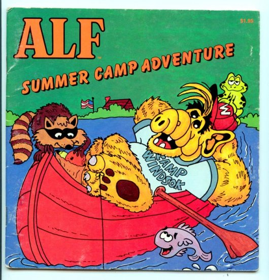 ALF: Summer Camp Adventure (1987 Checkerboard Press) by Harry Coe Verr, Eldon Doty