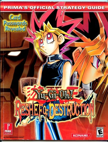 Yu-Gi-Oh! Reshef of Destruction (Prima Official Strategy Video Game Guide) by Scruffy Productions