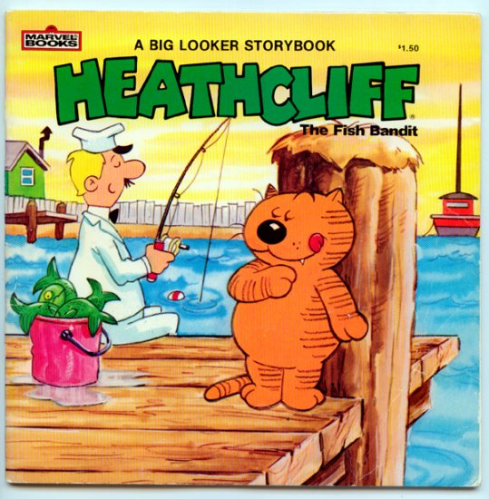 Heathcliff - the Fish Bandit by Shirley Jay, John Costanza - Marvel Comic Books