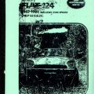 FIAT 124 1967-1981 + 2000 Spider Clymer Service & Repair Shop Manual (Guide)
