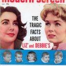 Modern Screen Magazine Nov. 1959 - Liz Taylor & Debbie Reynolds Fatherless Children - Jack Paar