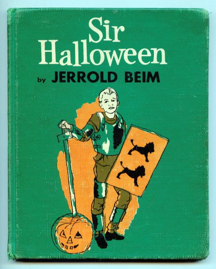 Sir Halloween (HC 1959 by Jerrold Beim, Tracy Sugarman
