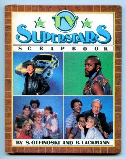 TV Superstars Scrapbook (1984 Book) Mr. T, David Hasselhoff, Knight Rider