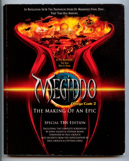 MEGIDDO The Omega Code 2 - The Making of an Epic (Screenplay & Book) Special Edition