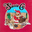 Santa Cat (HC Book 1985) by Daniel Alley (Signed & Inscribed)