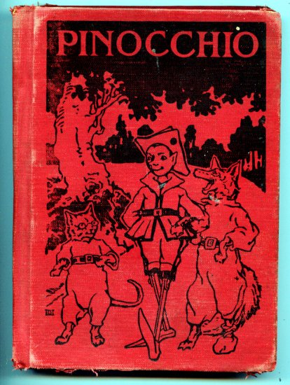 Pinocchio: The Story of a Marionette Edited by Sidney G Firman (HC 1923) Carlo Collodi