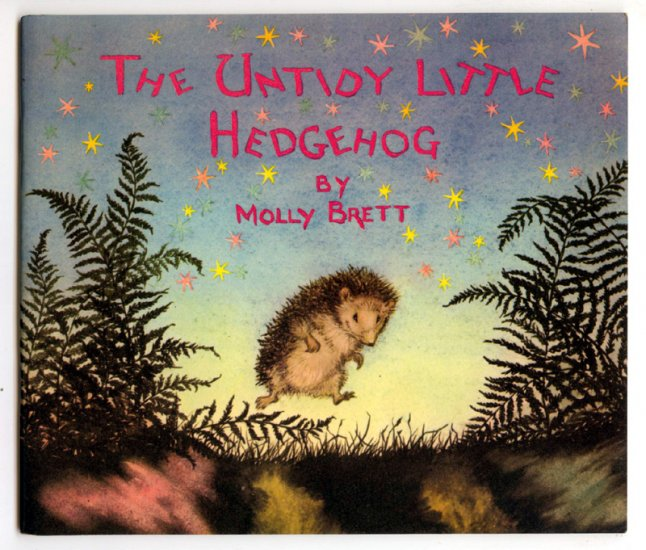 The Untidy Little Hedgehog [Medici Books 1966] by Molly Brett