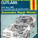 Oldsmobile Cutlass 1974-88 (Haynes Repair Service Manuals) Guide to