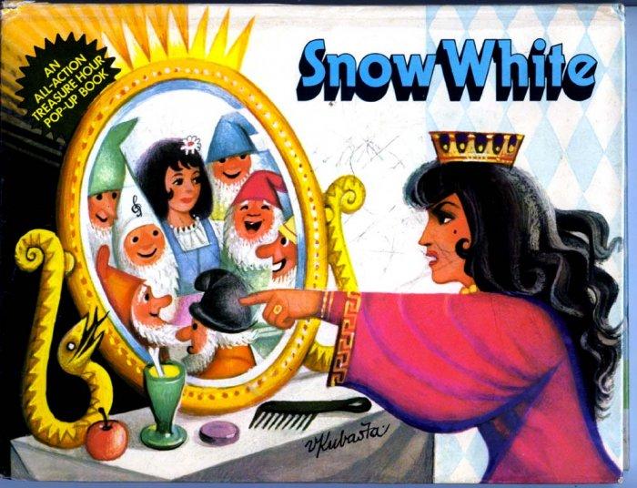 Snow White Pop up Prague (HC 1971) by Artia Prague, V. Kubasta (Illustrator)