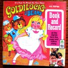 Goldilocks and the 3 Bears (Peter Pan Book & Record 1973) Adapted by Knudsen