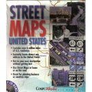STREET MAPS UNITED STATES by MICROSOFT COMPU WORKS
