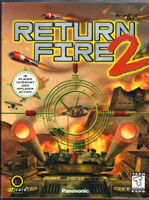 Return Fire 2 by Panasonic & ripcord (PC Windows CD-ROM Video Game)