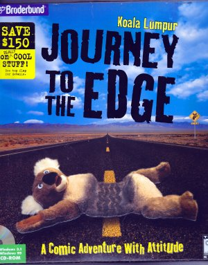 Koala Lumpur: Journey to the Edge by Broderbund (PC CD-ROM Video Game)