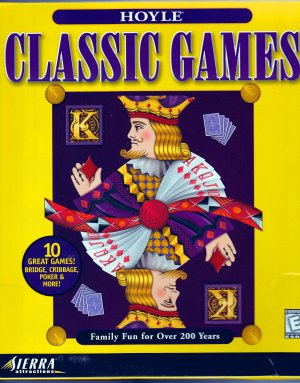 HOYLE CLASSIC GAMES by Sierra (PC CD Video Game) Poker, Solitaire, Backgammon