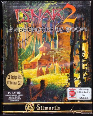 "ISHAR 2 - Messenger of Doom by Silmarils (PC DOS 3.5"" Disk Video Game)"