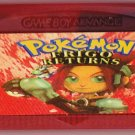 Pokemon : FRIGO Returns (Game Boy Advance Cartridge) (Ruby & Sapphire)