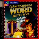 Carmen Sandiego ACME AGENT HANDBOOK (PC Video Game) (CD-ROM) Broderbund