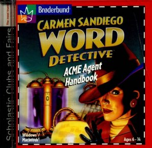 Carmen Sandiego ACME AGENT HANDBOOK (PC Video Game) (CD-ROM) Broderbund