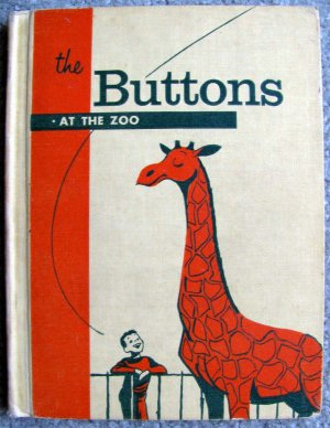 The Buttons at the Zoo (The Button books) [Hardcover] by Edith S McCall