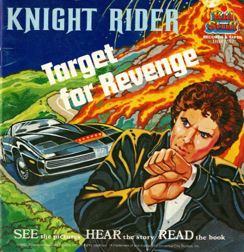 Knight Rider - Target For Revenge (See & Hear Book) 1982 Universal