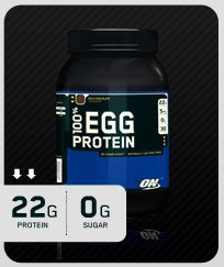 ON 100% EGG PROTEIN 2lb - Available in 2 Flavors