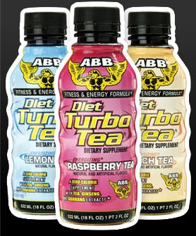 ABB Diet Turbo Tea 24pk 18oz- Available in 3 Flavors