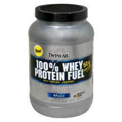 TwinLab 100% Whey Protein Fuel 2lb - Availble in 3 Flavors