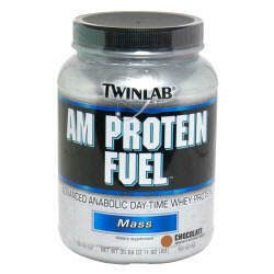 TwinLab AM Protein Fuel Mass 30.69oz -