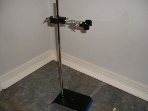 Lab Ring Stand And Burette Clamp