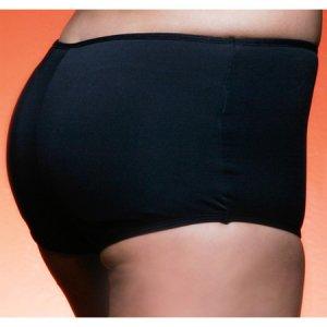 Boy Adult Low Rise Invisible Insert Buttock Enhancement Black/Beige S, M, L, XL
